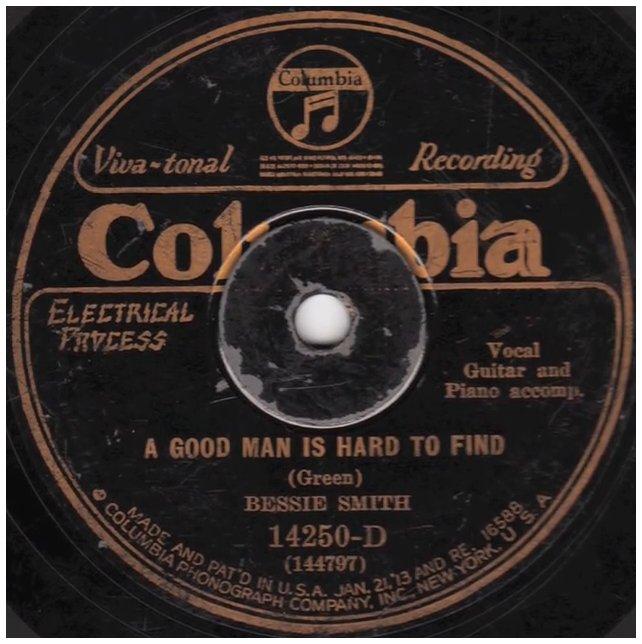Smith-bessie-good man is hard-1927