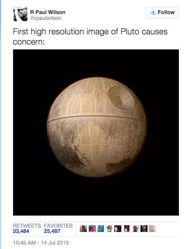 Death Star tweet